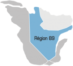 Région 89 Nord-Est du Québec